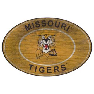 Missouri Tigers Heritage Oval Wall Sign