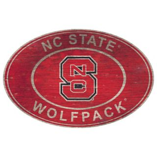 North Carolina State Wolfpack Heritage Oval Wall Sign