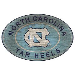 North Carolina Tar Heels Heritage Oval Wall Sign