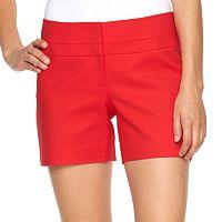 Women's Apt. 9® Modern Fit City Shorts