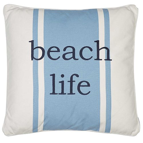 St. Maarten Beach Life Throw Pillow