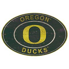 Oregon Ducks Heritage Oval Wall Sign
