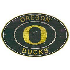 Oregon Ducks Heritage Oval Wall Sign