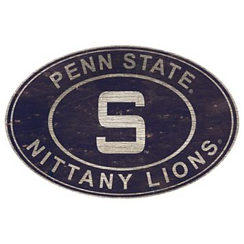 Penn State Nittany Lions Heritage Oval Wall Sign