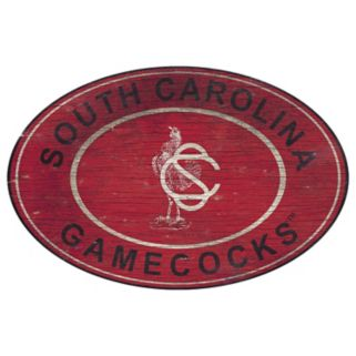 South Carolina Gamecocks Heritage Oval Wall Sign