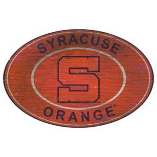 Syracuse Orange Heritage Oval Wall Sign