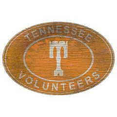 Tennessee Volunteers Heritage Oval Wall Sign