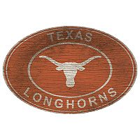 Texas Longhorns Heritage Oval Wall Sign