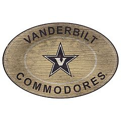 Vanderbilt Commodores Heritage Oval Wall Sign