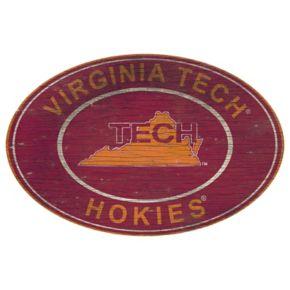 Virginia Tech Hokies Heritage Oval Wall Sign
