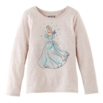 Disney's Cinderella Girls 4-10 Long-Sleeved Tee by Jumping Beans®