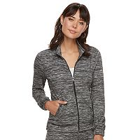 Women's Juicy Couture Marled Hoodie Jacket