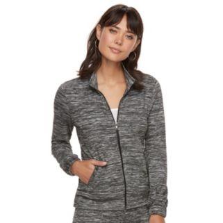 Women's Juicy Couture Marled Hoodie Jacket