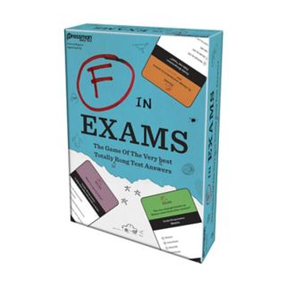 F In Exams Game by Pressman Toy