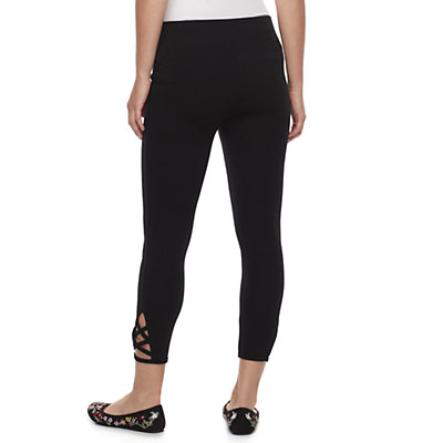 Petite SONOMA Goods for Life? Crisscross Capri Leggings