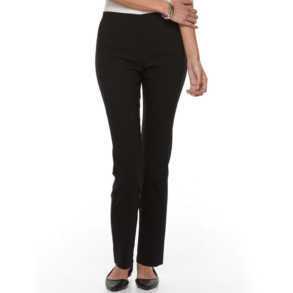 Petite Croft & Barrow® Pull-On Ankle Pants
