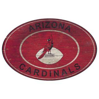 Arizona Cardinals Heritage Oval Wall Sign