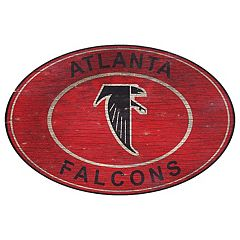 Atlanta Falcons Heritage Oval Wall Sign