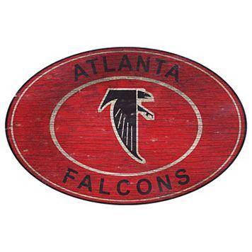 Atlanta Falcons Heritage Oval Wall Sign
