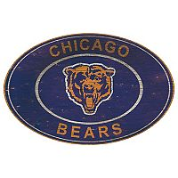Chicago Bears Heritage Oval Wall Sign