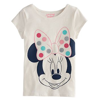 Disney's Minnie Mouse Girls 4-10 Short-Sleeved Dot Tee by Jumping Beans®