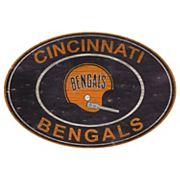 Cincinnati Bengals Heritage Oval Wall Sign