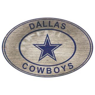 Dallas Cowboys Heritage Oval Wall Sign