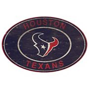 Houston Texans Heritage Oval Wall Sign