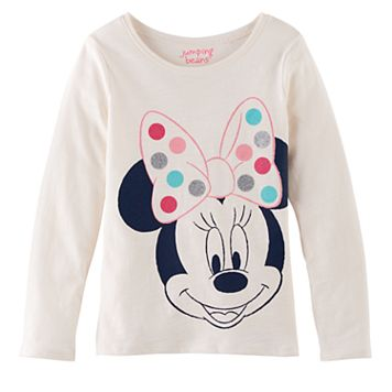 Disney's Minnie Mouse Girls 4-10 Dot Tee by Jumping Beans®