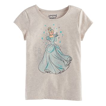 Disney's Cinderella Girls 4-10 Embellished Tee by Jumping Beans®