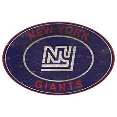 New York Giants Heritage Oval Wall Sign