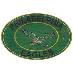 Philadelphia Eagles Heritage Oval Wall Sign