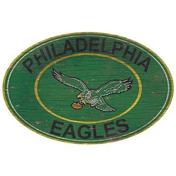 Philadelphia Eagles Heritage Oval Wall Sign