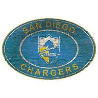 Los AngelesChargers Heritage Oval Wall Sign