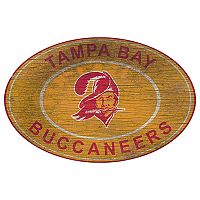 Tampa Bay Buccaneers Heritage Oval Wall Sign