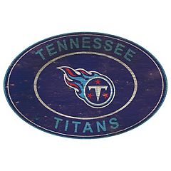 Tennessee Titans Heritage Oval Wall Sign