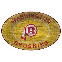 Washington Redskins Heritage Oval Wall Sign