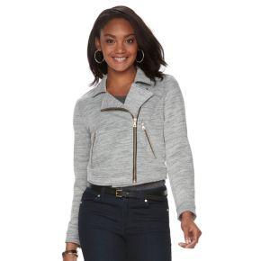 Petite Apt. 9® Asymmetrical Moto Jacket