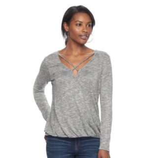 Women's Juicy Couture Strappy Marled Top