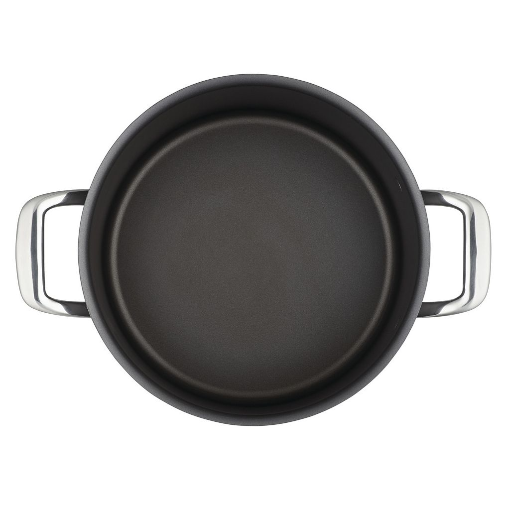 Breville Thermal Pro 4-qt. Hard-Anodized Nonstick Saucepot