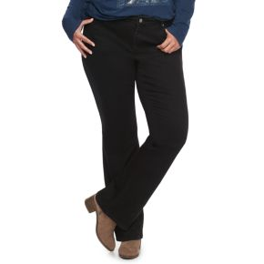 Plus Size SONOMA Goods for Life? Curvy Fit Bootcut Jeans