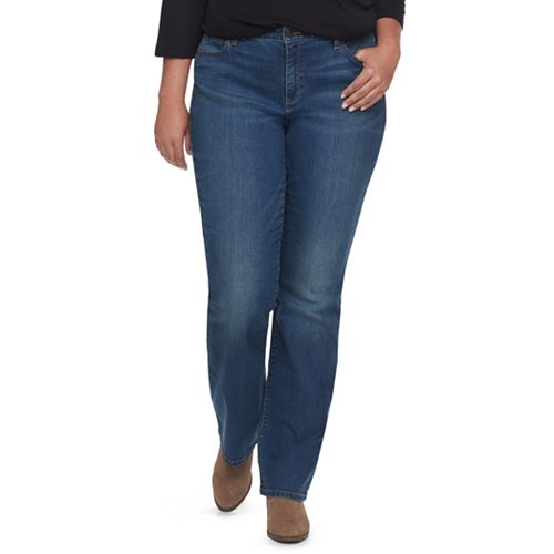 Plus Size SONOMA Goods for Life™ Curvy Fit Bootcut Jeans