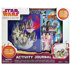 Star Wars Forces of Destiny Journal Activity