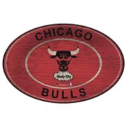 Chicago Bulls Heritage Oval Wall Sign