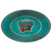 Memphis Grizzlies Heritage Oval Wall Sign