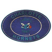 Charlotte Hornets Heritage Oval Wall Sign