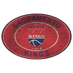 Sacramento Kings Heritage Oval Wall Sign