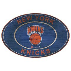 New York Knicks Heritage Oval Wall Sign