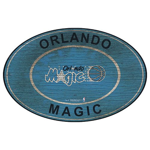 Orlando Magic Heritage Oval Wall Sign