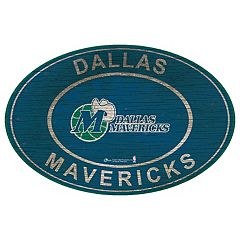 Dallas Mavericks Heritage Oval Wall Sign